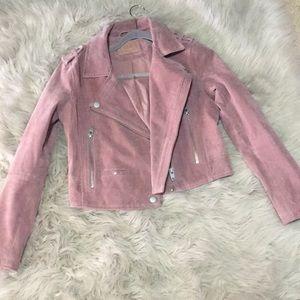 ✨NEW mauve suede jacket